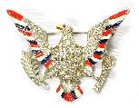 gallery eagle pins brooches